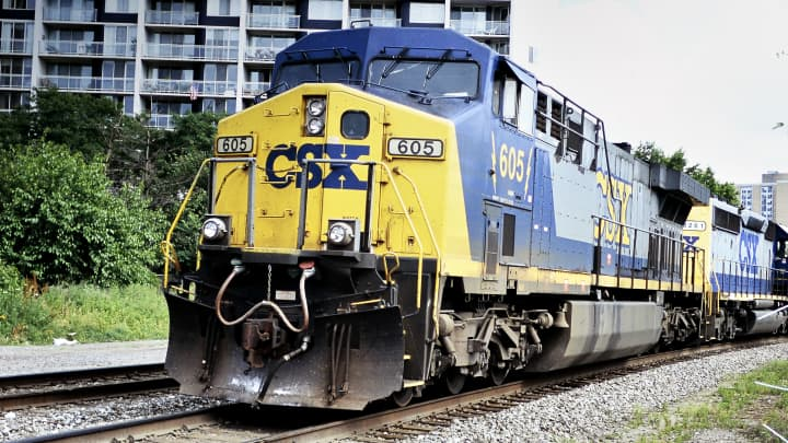 CEO of railroad giant CSX says the economy is the 'most puzzling' he's seen as stock plummets
