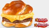 Pretzel Breakfast Sandwich from Carl's Jr. and Hardee's