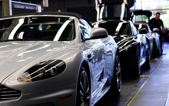 Aston Martin expects annual profit to nearly halve on Europe weakness