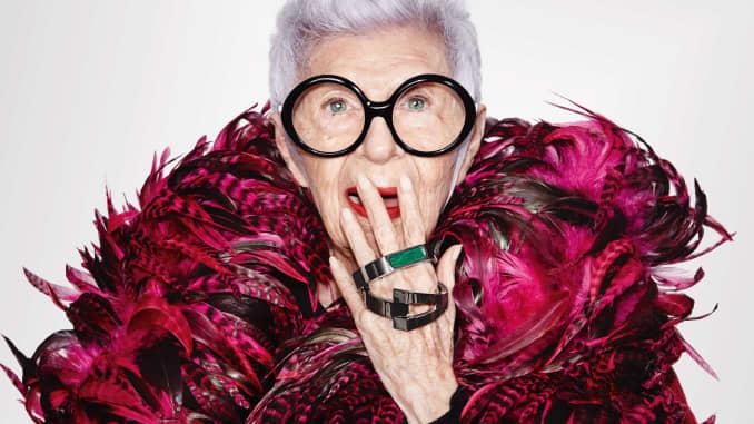 Iris Apfel is designing WiseWear's fashionable senior smart