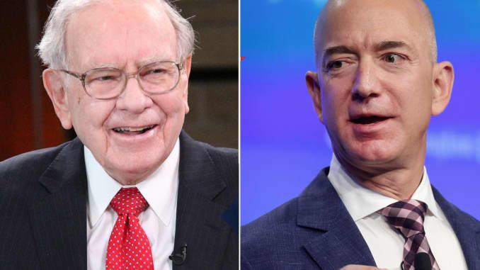 Warren Buffett dan Jeff Bezos