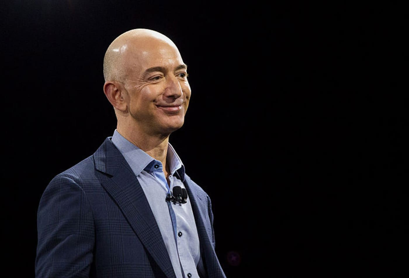 Why Jeff Bezos says he succeeded in life