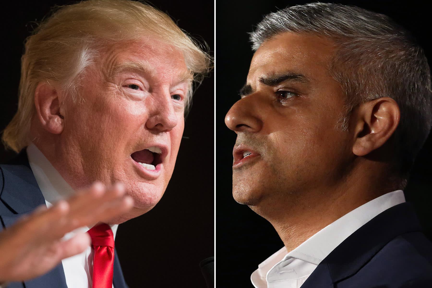 Trump blasts London Mayor Sadiq Khan on UK trip: 'He is a stone cold loser'
