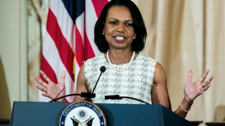 Condoleezza Rice: China hurt itself by saying it wanted to dominate the tech world