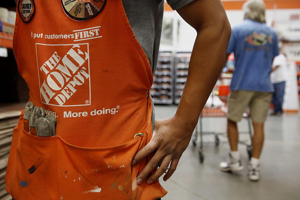 Home Depot earnings beat despite wet start to spring