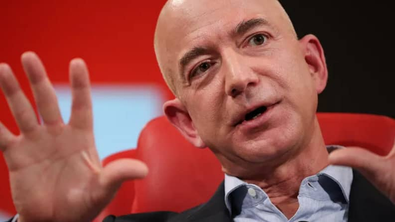 Billionaire Jeff Bezos: To live a happy life with no regrets by age 80, ask yourself these 12 questions
