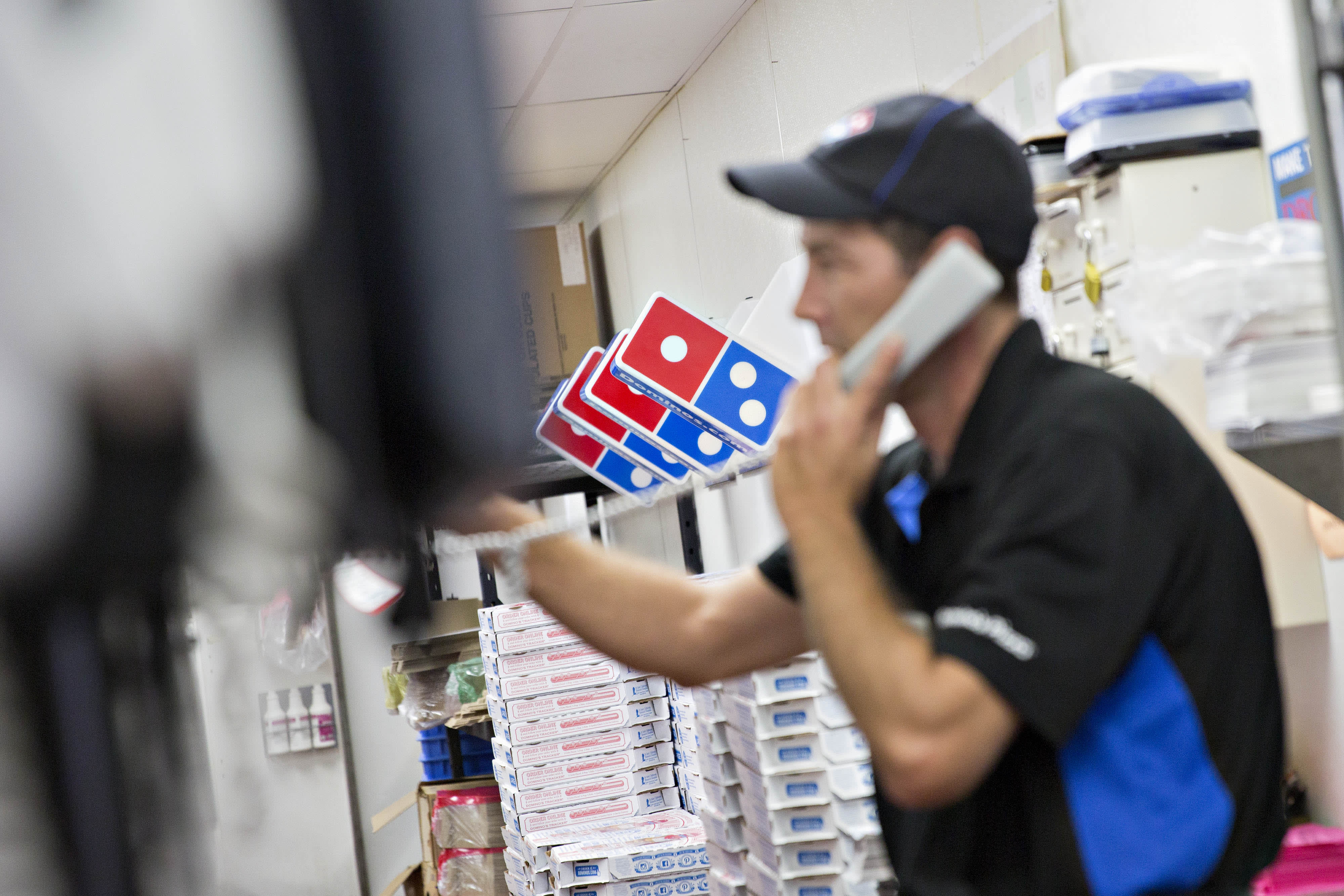 A blind man couldn't order pizza from Domino's. The company wants the Supreme Court to say websites don't have to be accessible