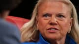 IBM's Ginni Rometty speaking at the 2016 Code Conference.