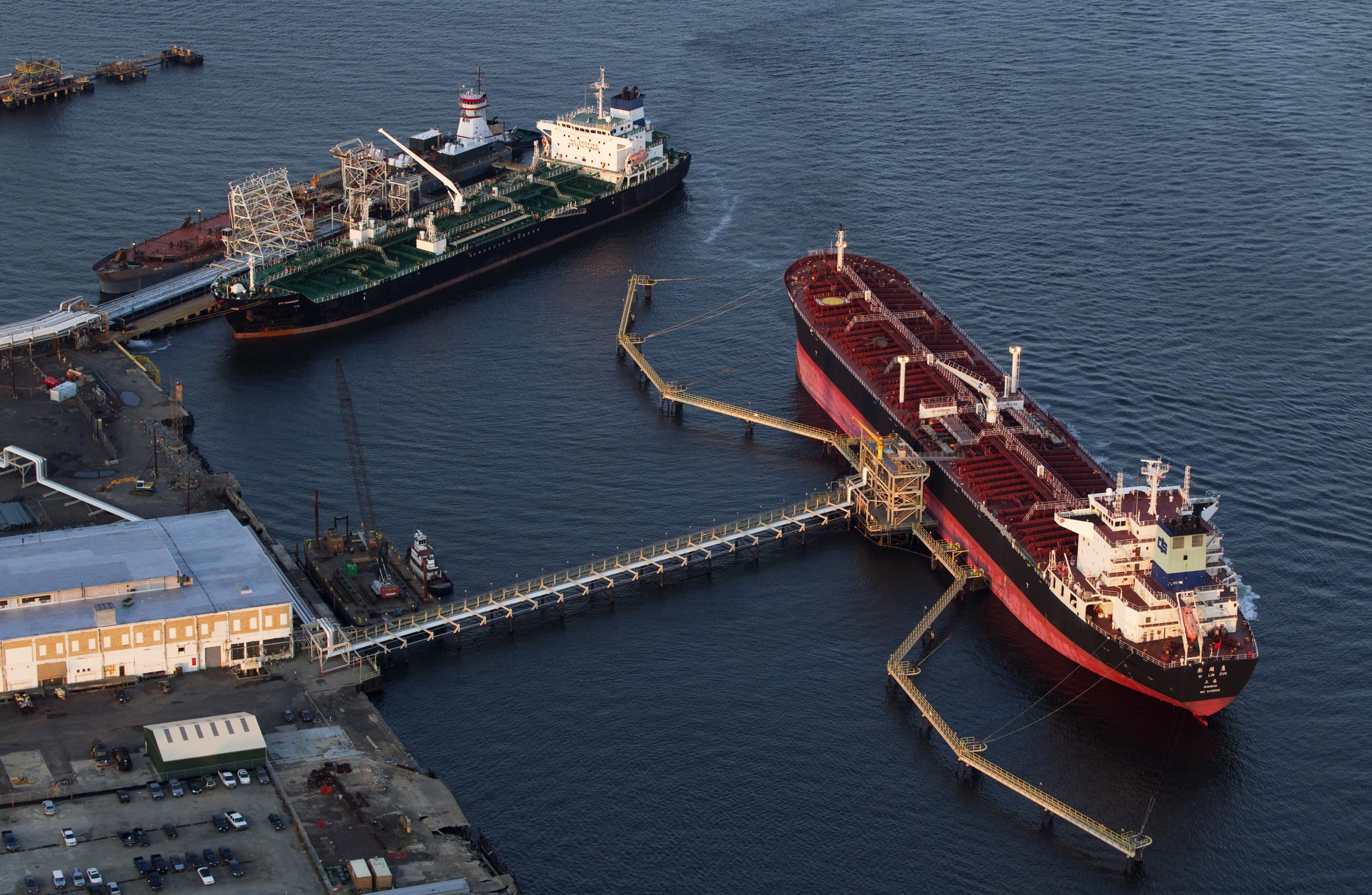 RT: Oil tankers Qi Lin Zuo of China and Sti-Matador