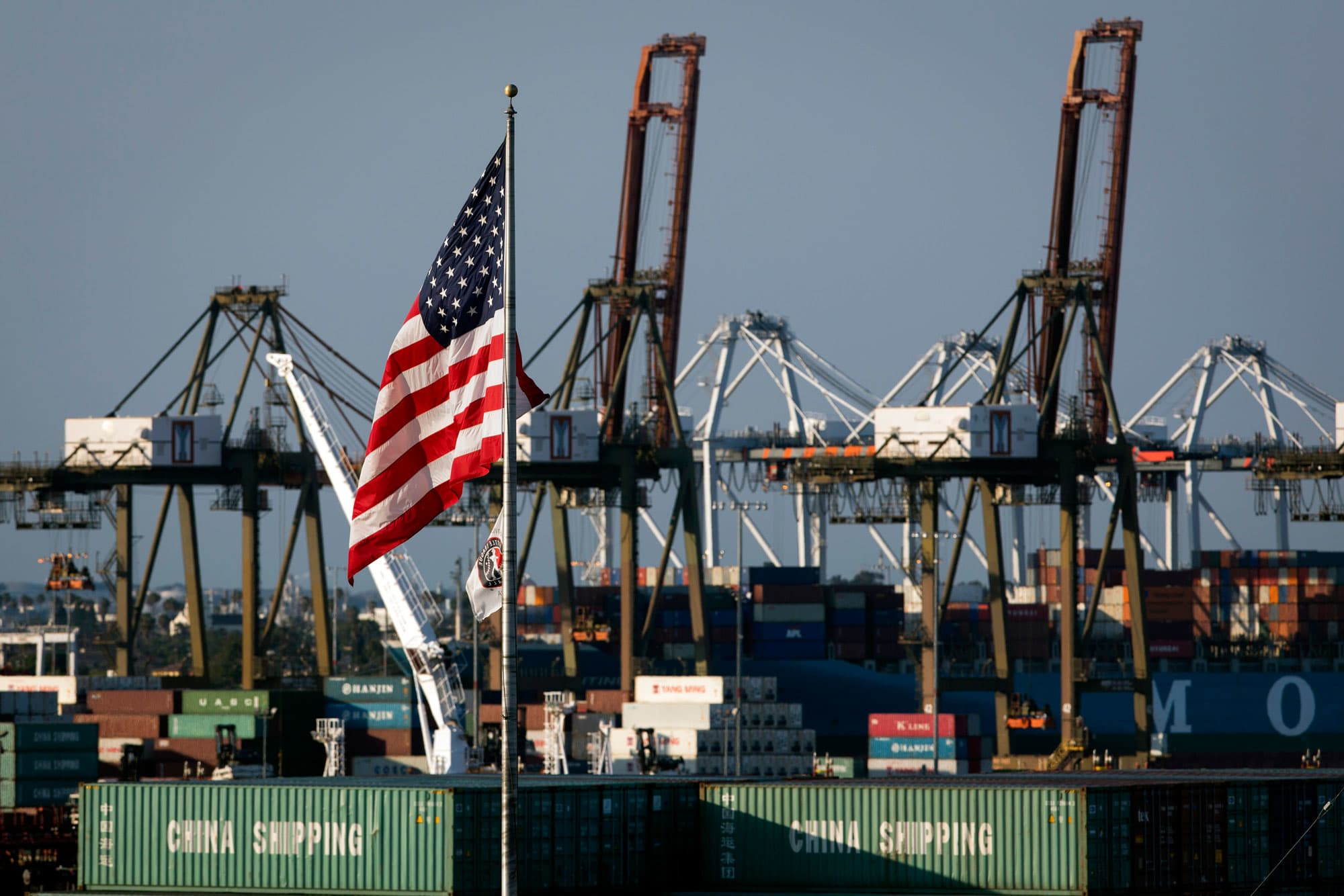 Trump's escalated trade war with China could hit California ports especially hard