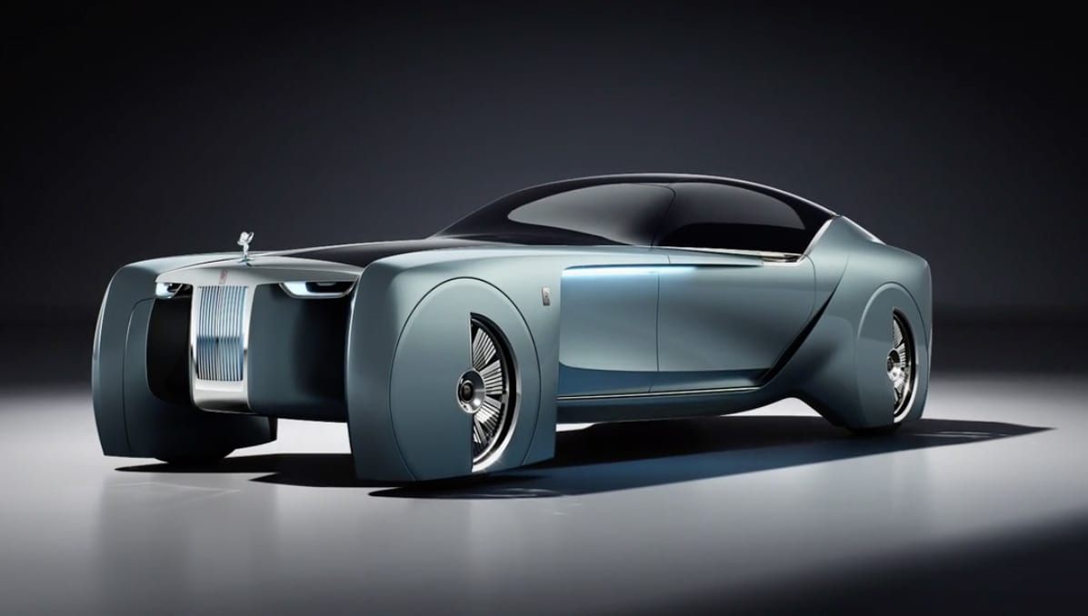 Rolls Royce Ditches The Chauffeur In This Futuristic Concept Car