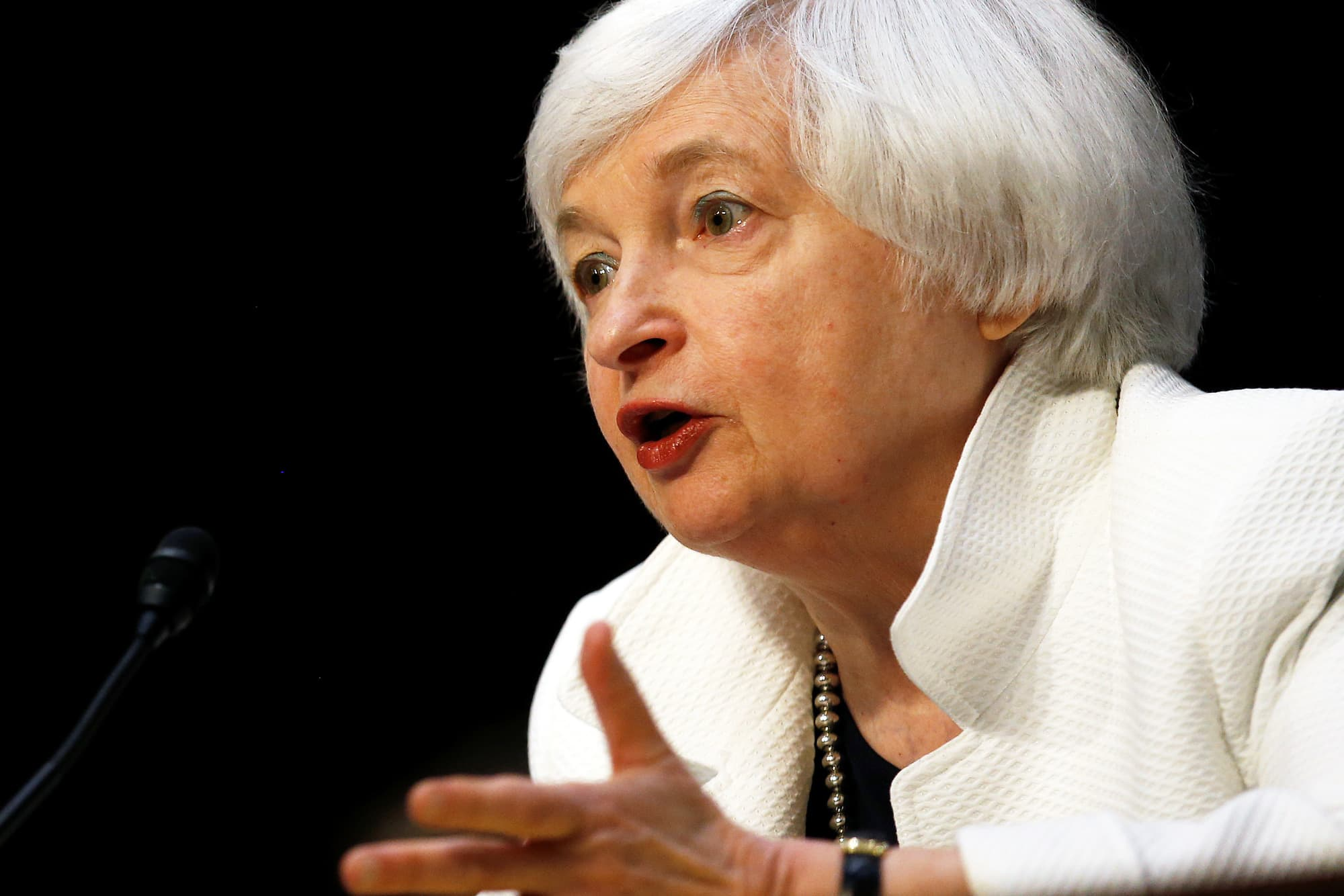 Watch: Fed Chair Yellen holds press conference after leaving rates unchanged