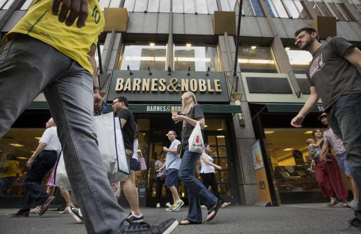 GP: Barnes and Noble location