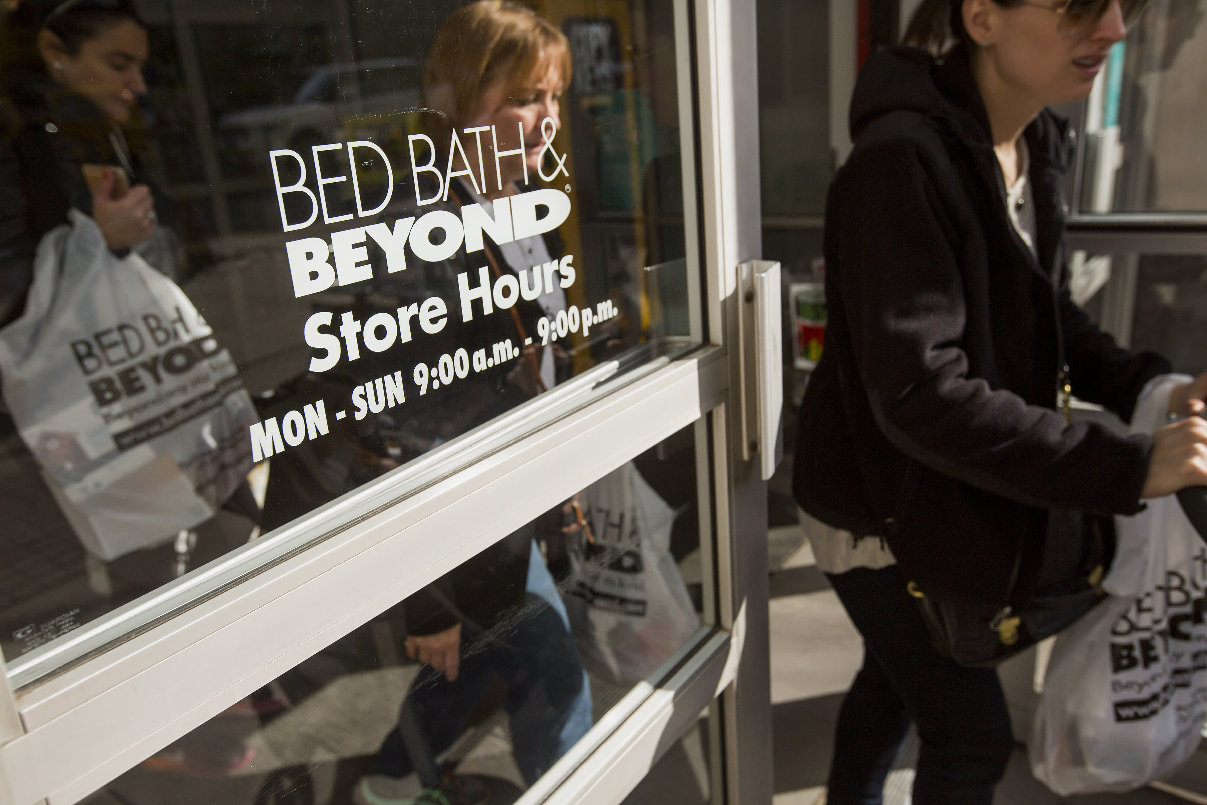 Stocks making the biggest moves midday: Bed Bath & Beyond, Cisco Systems, Morgan Stanley & more