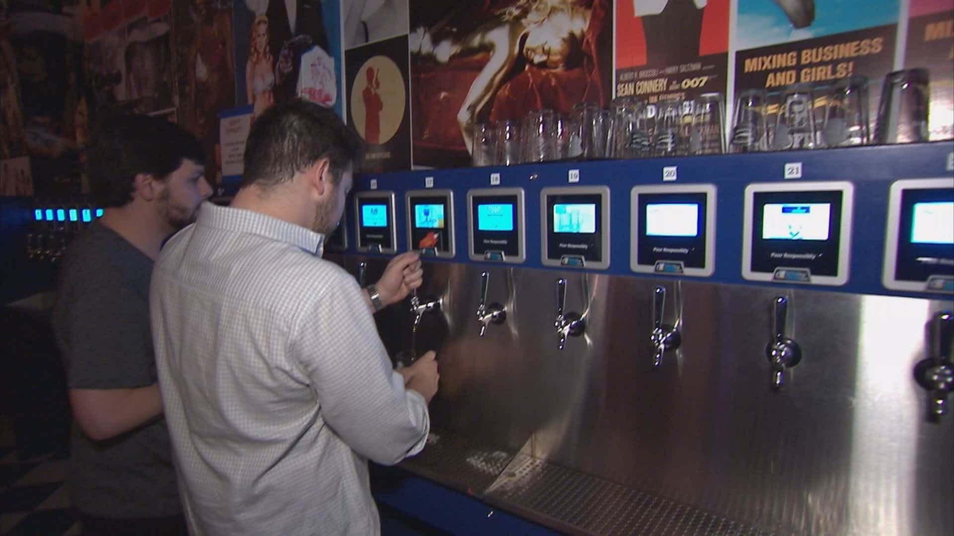Tapping into self service, with beer as the tool