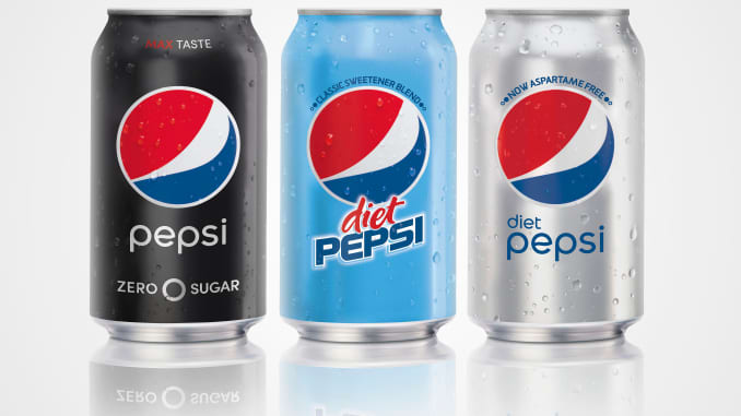 Pepsi relaunches Diet Pepsi with aspartame following sharp
