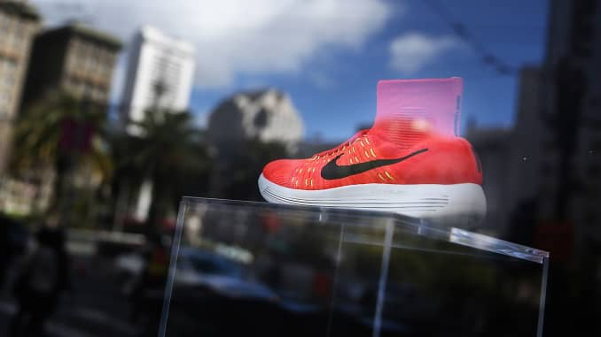 703dae521be Nike stock at one of its best entry points in 20 years: Top-rated ...