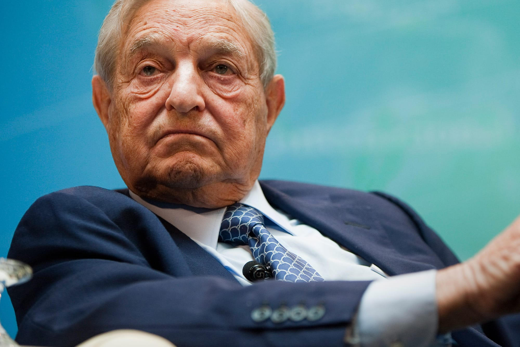 George Soros offers rare praise for Trump and how he's handled Huawei in the trade war