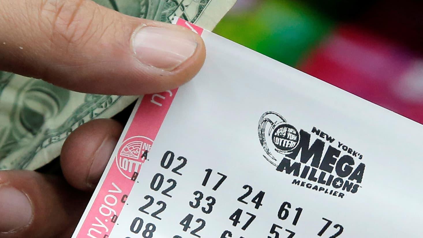 Tallying the tax bill on a $540 million Mega Millions win