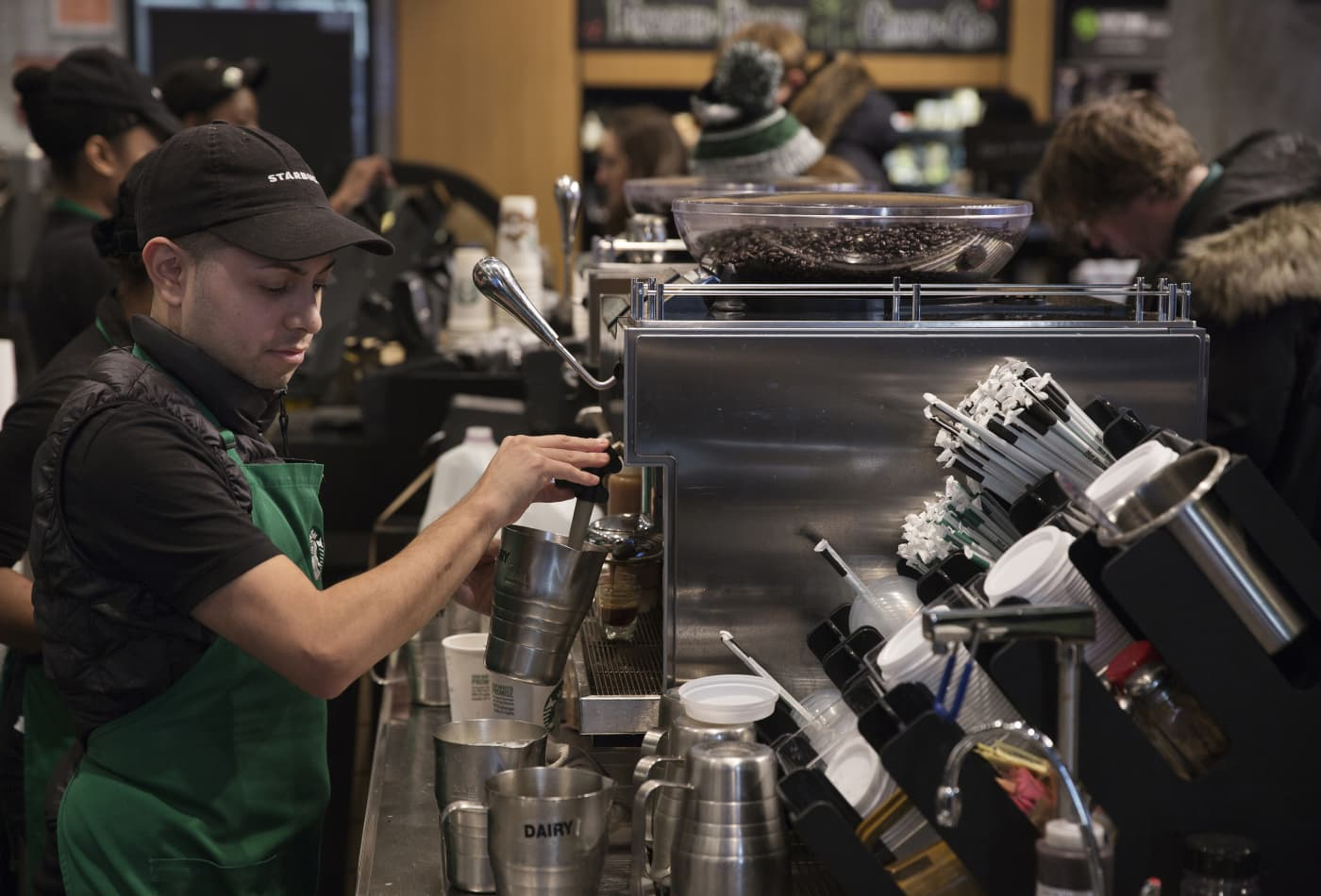 Starbucks and other companies that have reached pay equity