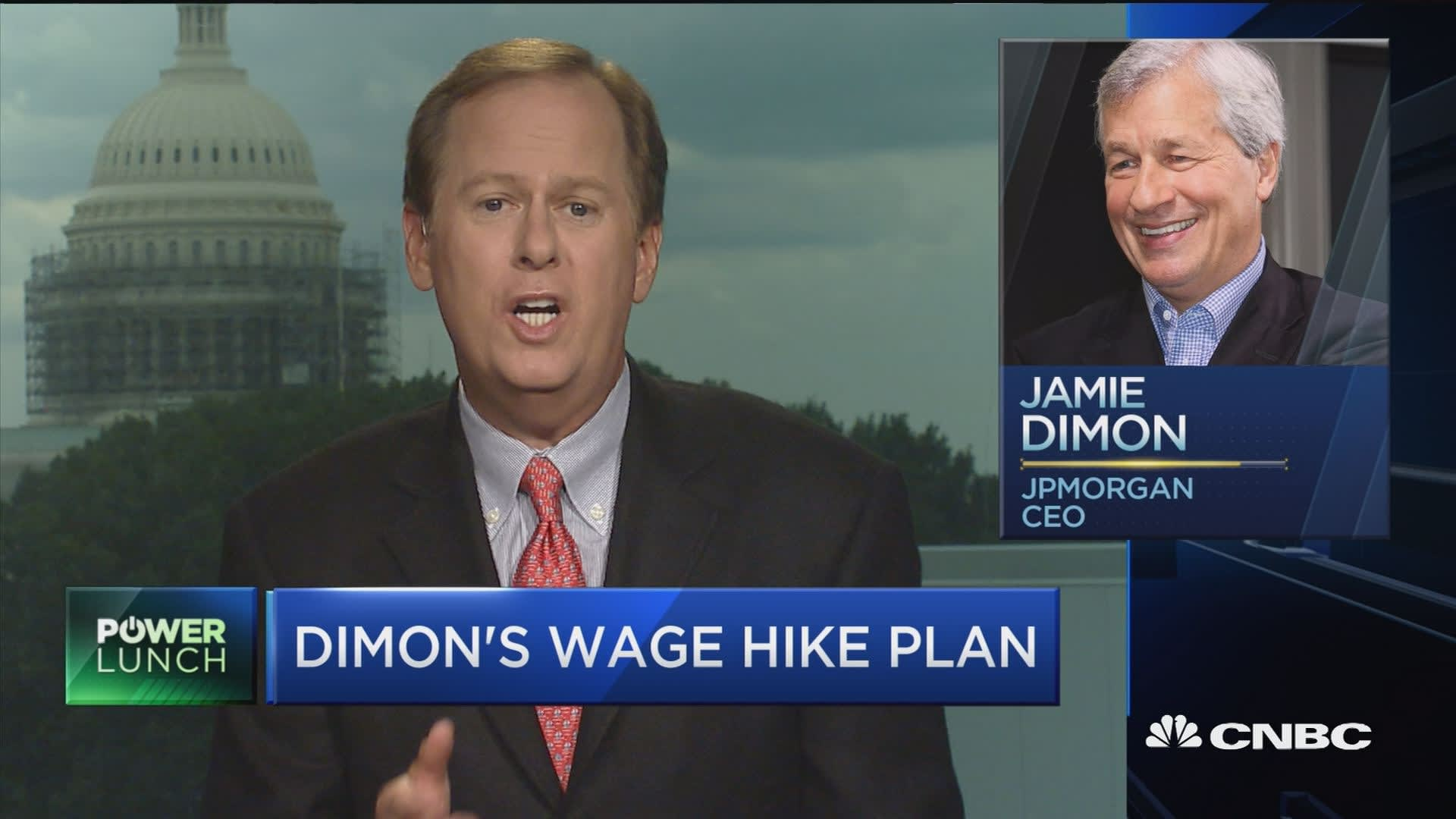 JPMorgan Chase Raises Pay For Minimum Wage Workers
