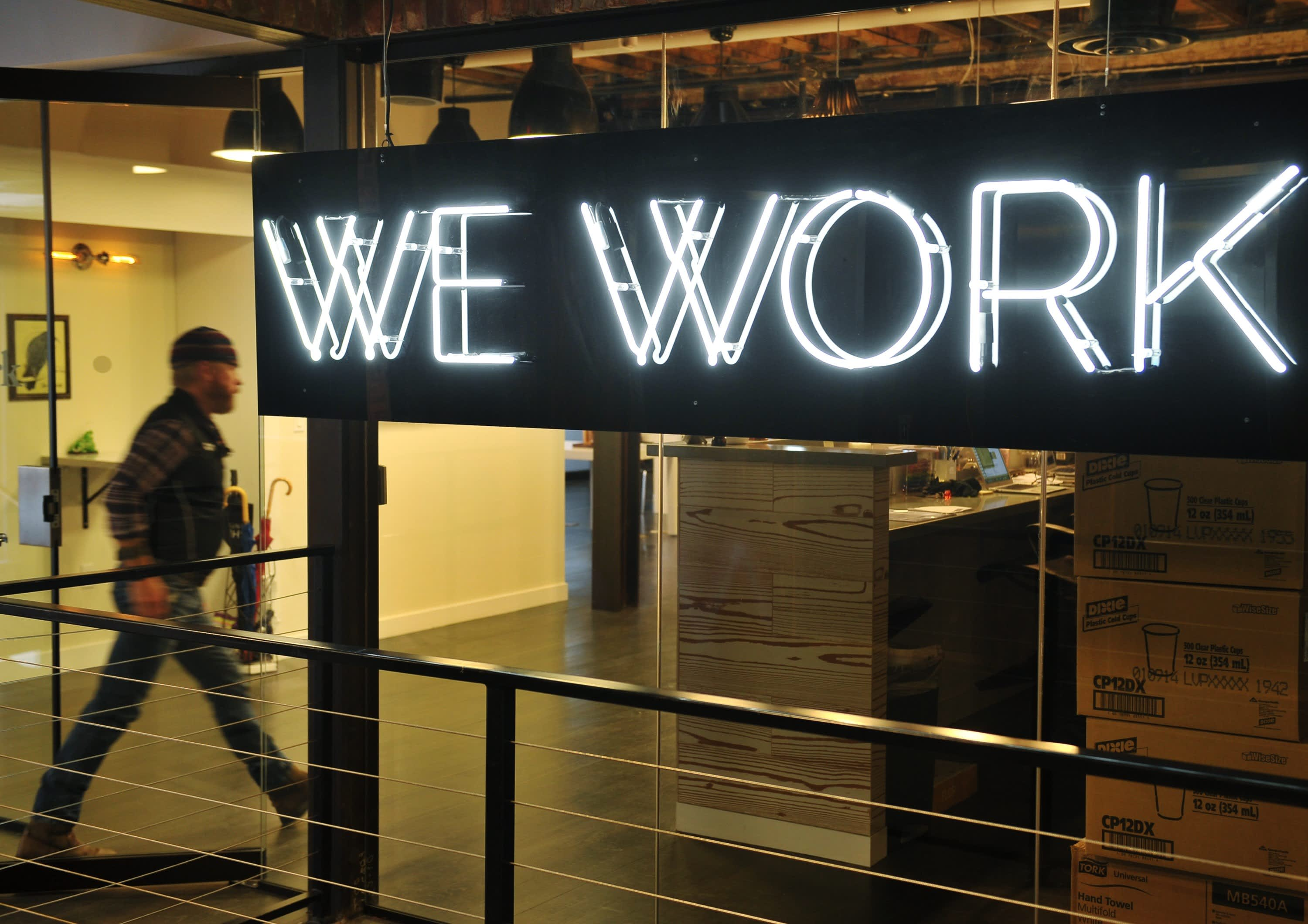 WeWork alerts members that at least 1,600 of its office phone booths are tainted with formaldehyde