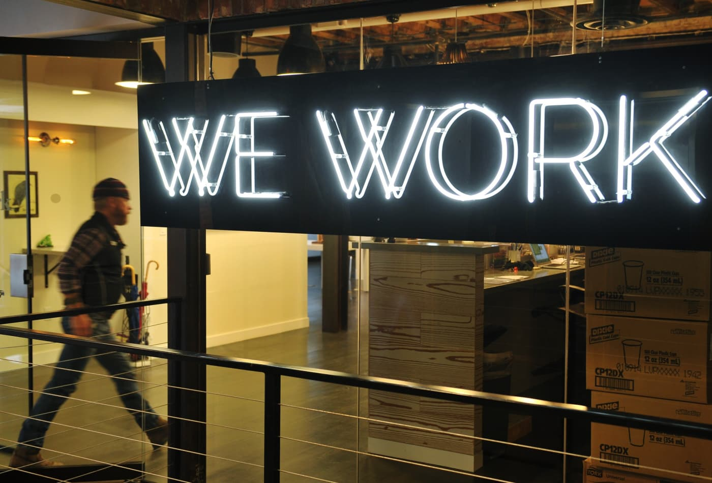 WeWork CEO expects strong rebound for shared office space in post-Covid return to work