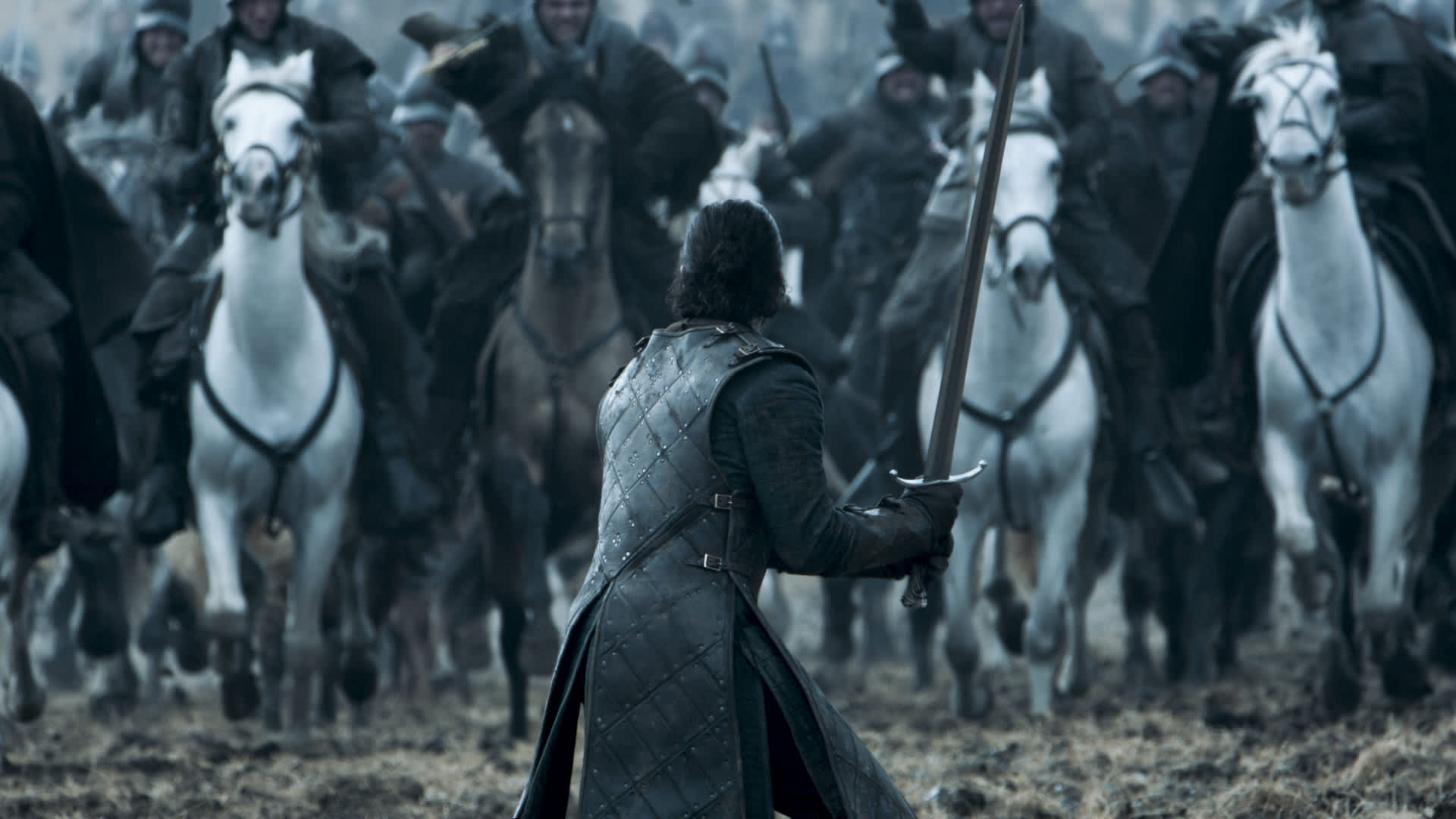 Kit Harington as Jon Snow featured in the Game of Thrones season 6, episode 9