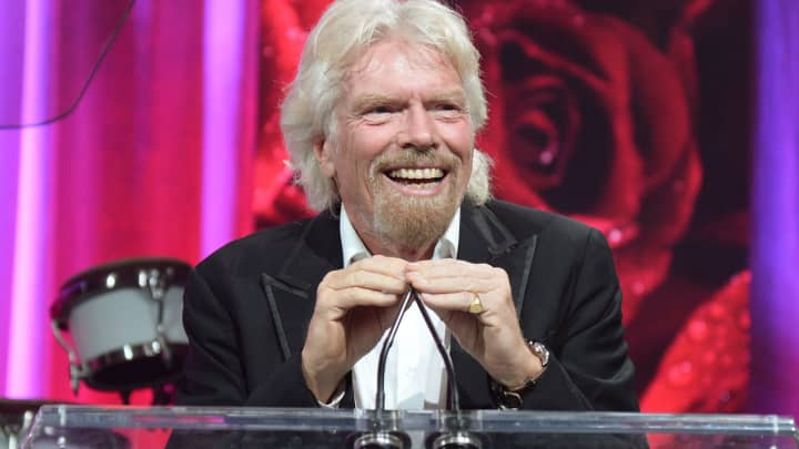 Billionaire Richard Branson's definition of success has nothing to do with money