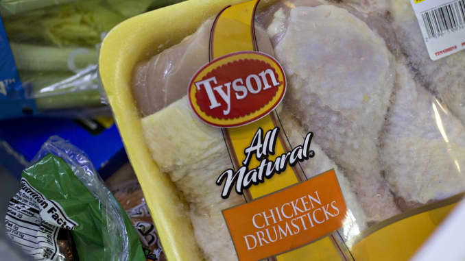 GP:Tyson Foods鸡腿