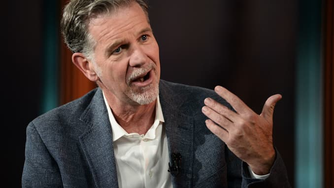 Netflix CEO Reed Hastings on how the company was born
