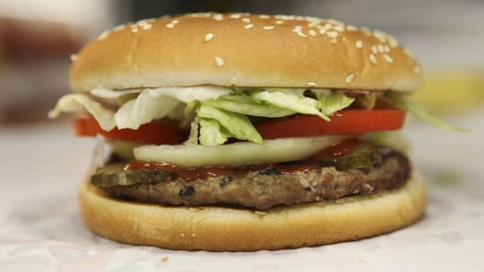 Burger King sells Whoppers for a penny at McDonald's locations