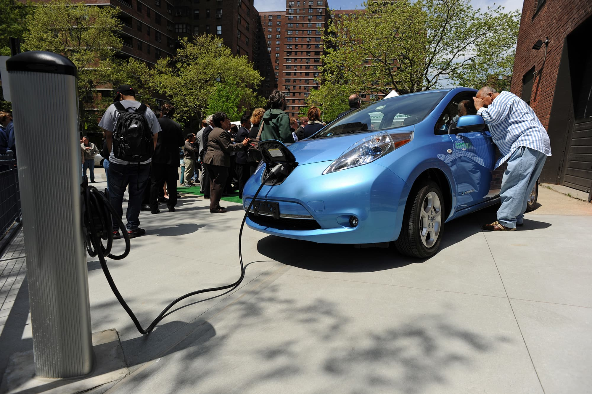 Premium: Nissan Leaf electric vehicle