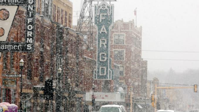 GP: Fargo, North Dakota town