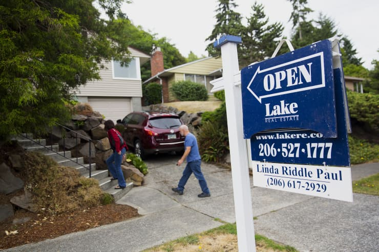 GP: Open house mortgage applications real estate Seattle Washington 140720