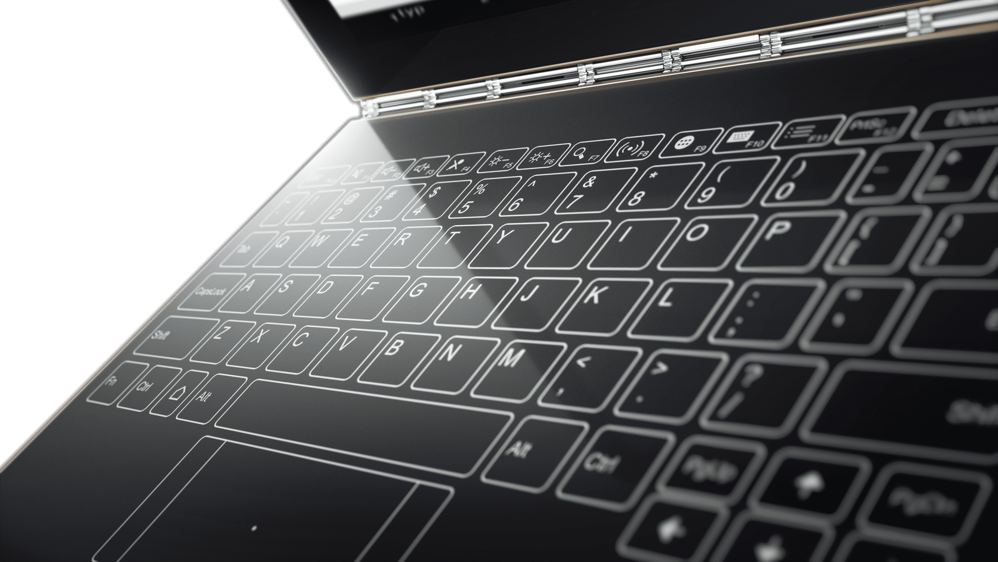 Lenovo launches Yoga Book: A tablet with touch keyboard, stylus that
