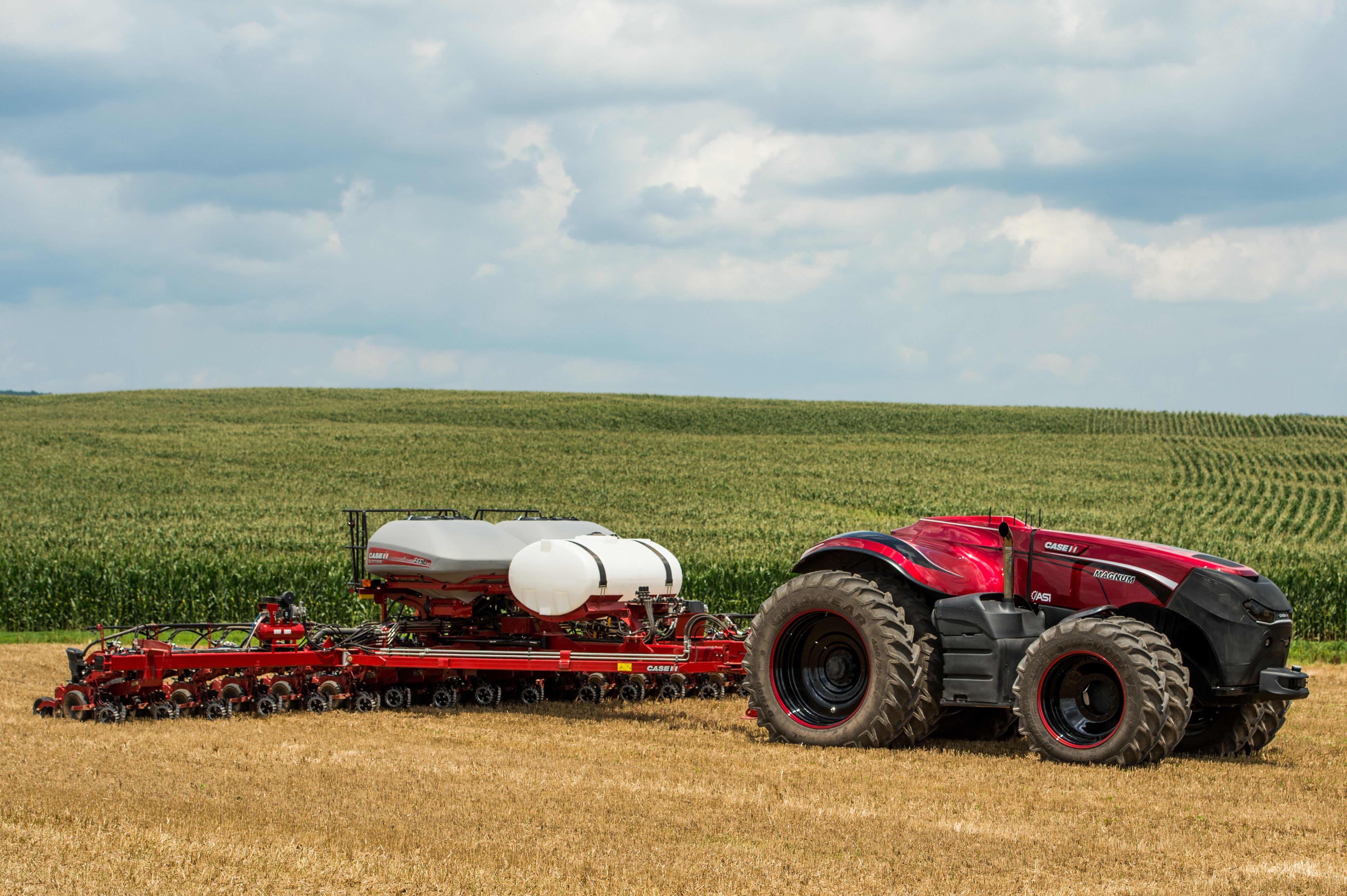 Future of farming: Driverless tractors, ag robots