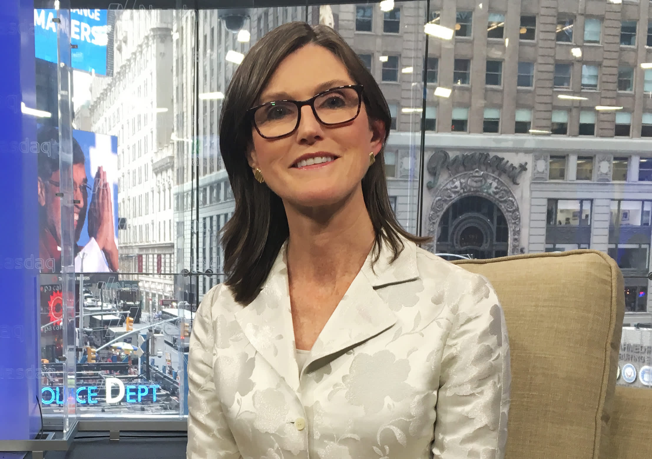 Cathie Wood loves the set-up for her stocks after sell-off, expects big returns from her strategies - CNBC