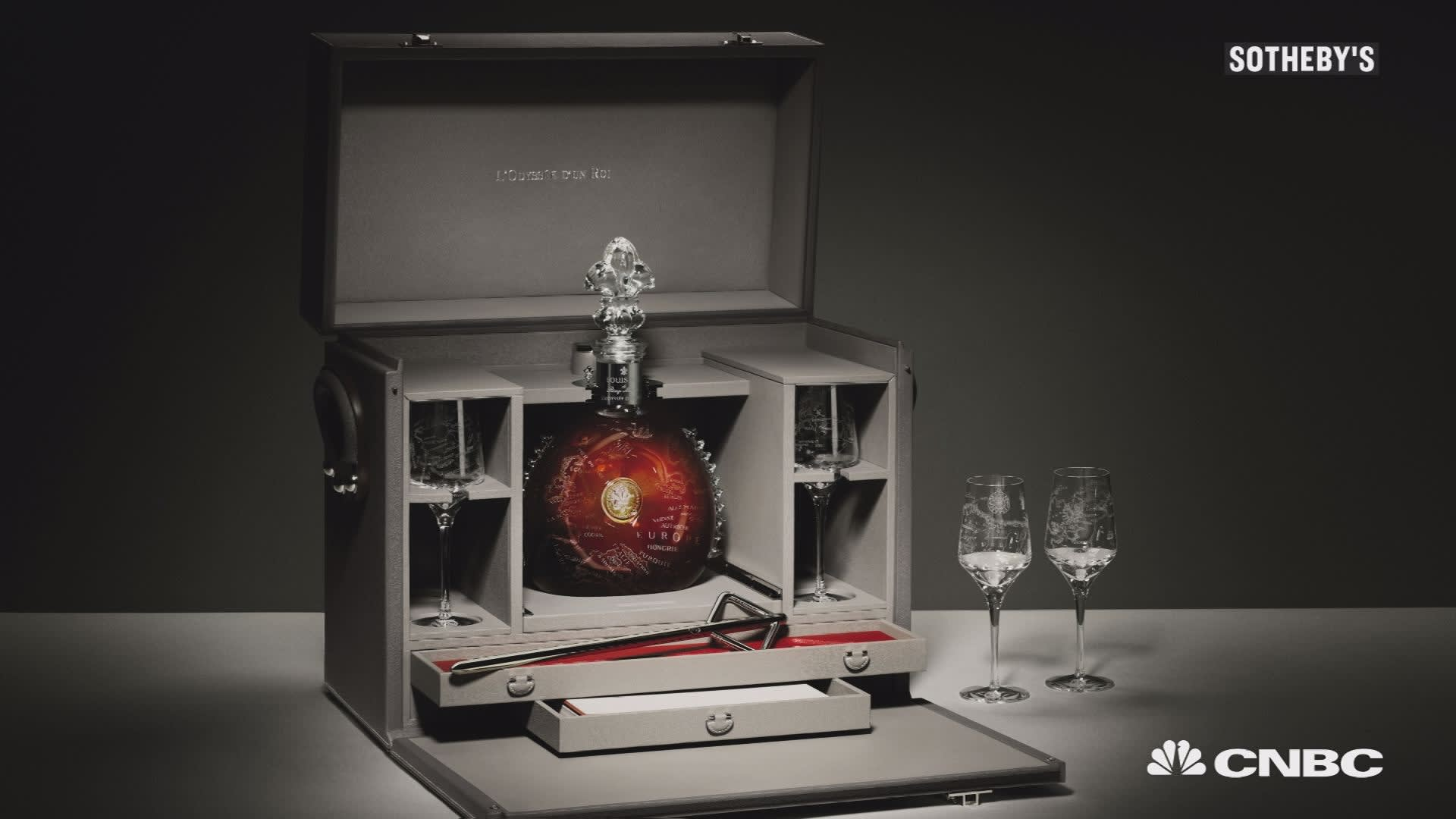 Bottle Of Louis Xiii Cognac Sells For 134 750