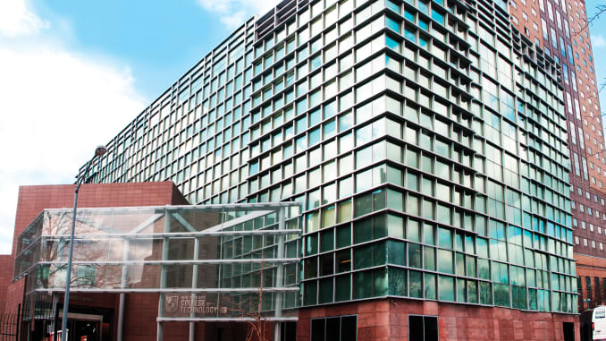 CUNY City College of Technology in New York.