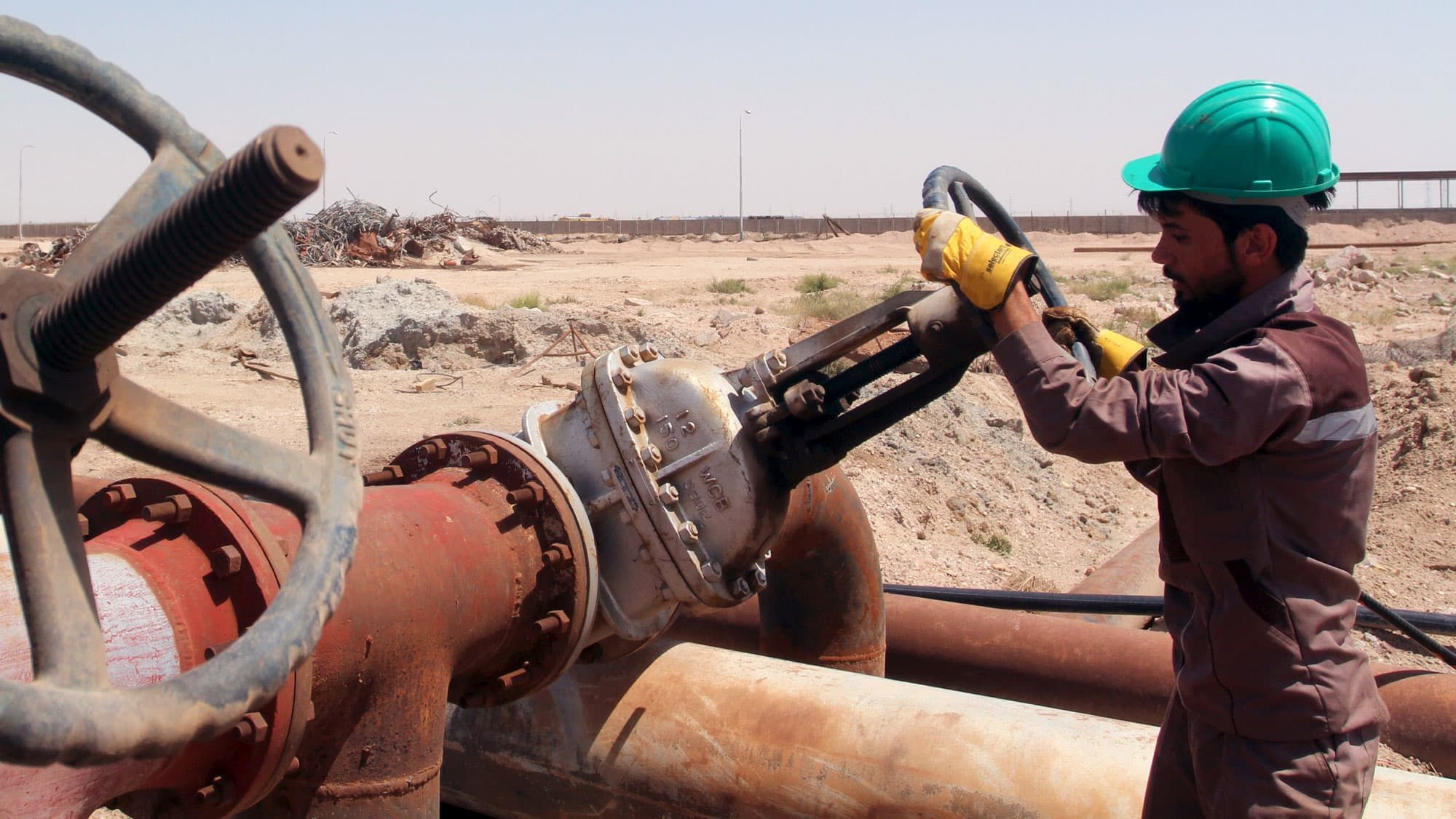 RT: OPEC Al-Sheiba oil refinery Iraq 160417