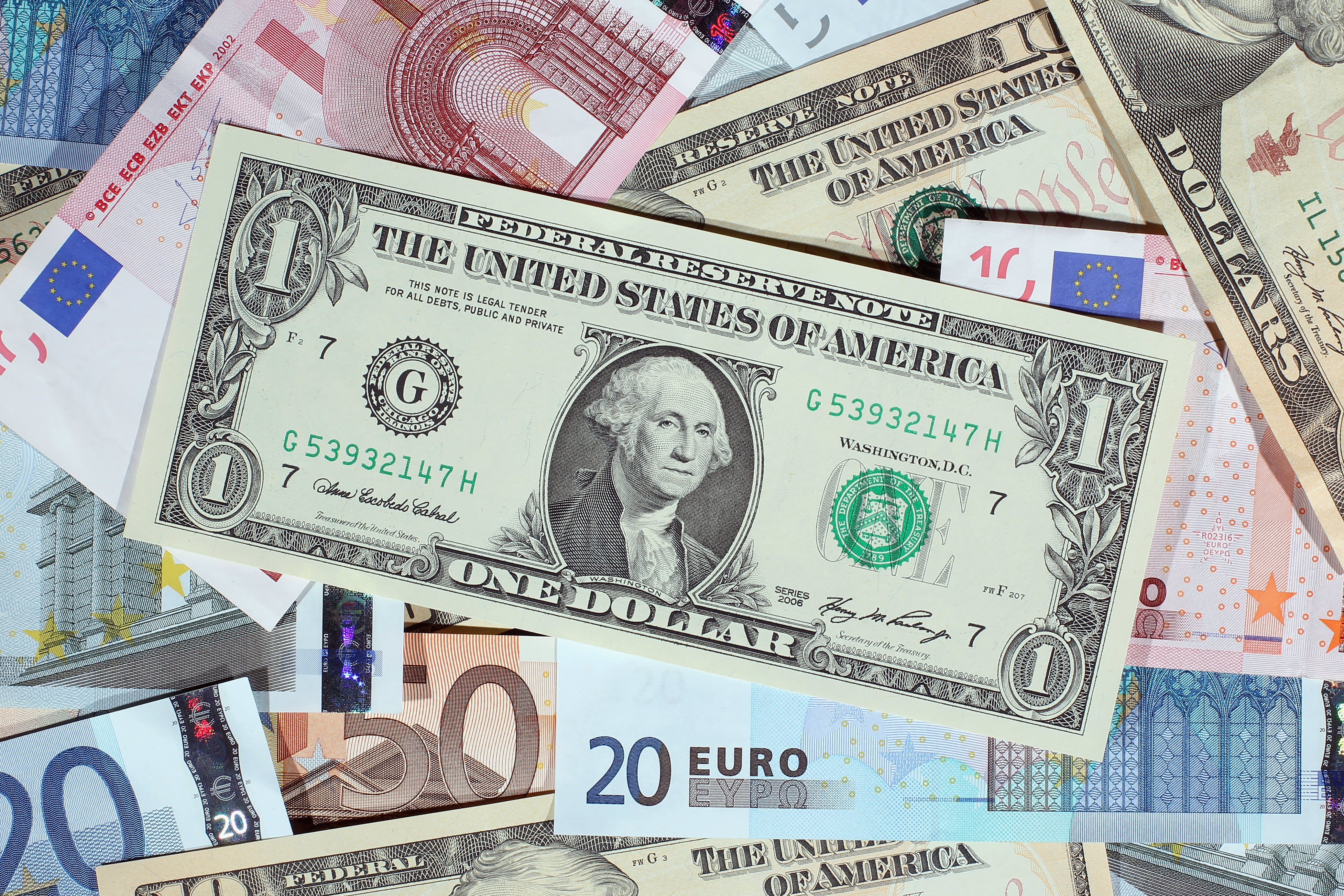 Reusable dollar euro forex