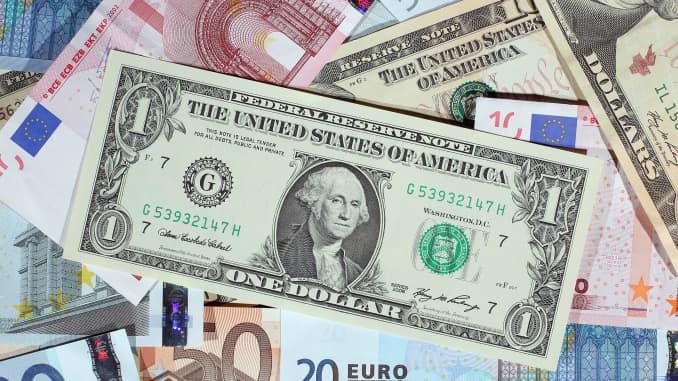 Reusable dollar euro forex