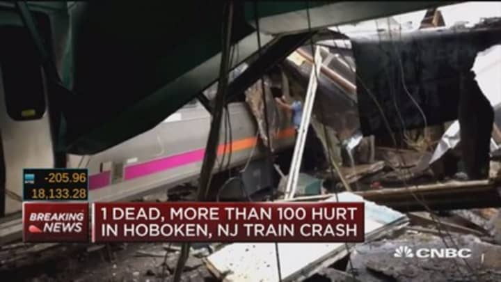 Hoboken Train Crash Kills 1 Injures 108 Gov Chris Christie Says