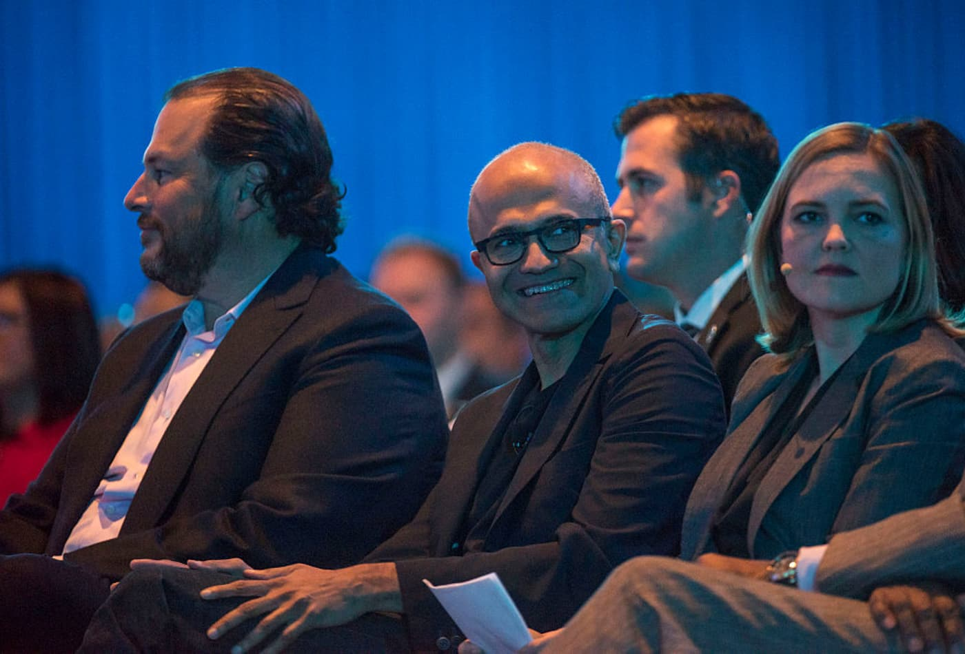 Microsoft sales changes could help it challenge Salesforce in cloud software