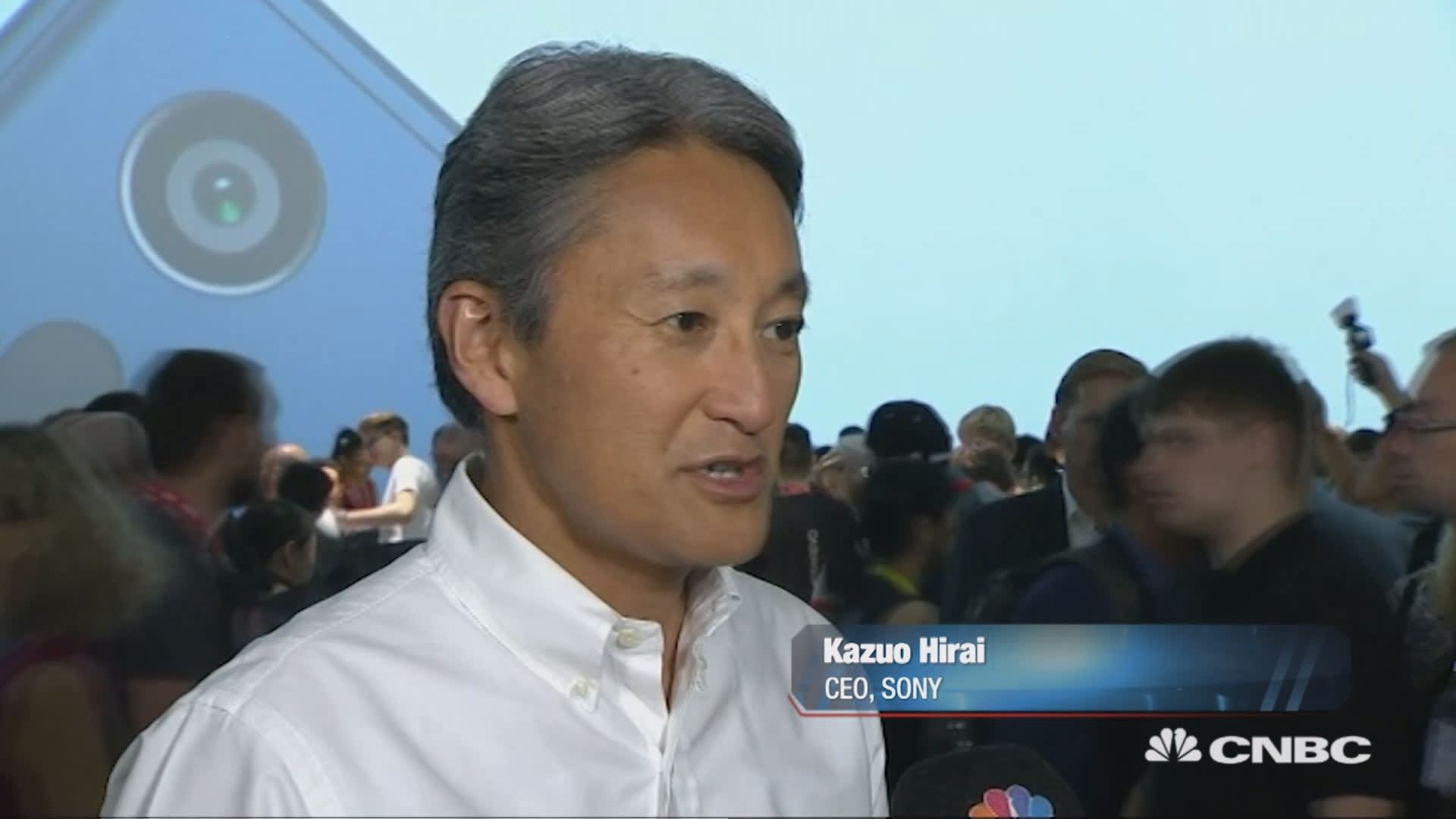 It's important for Sony to stay in the smartphone business: CEO