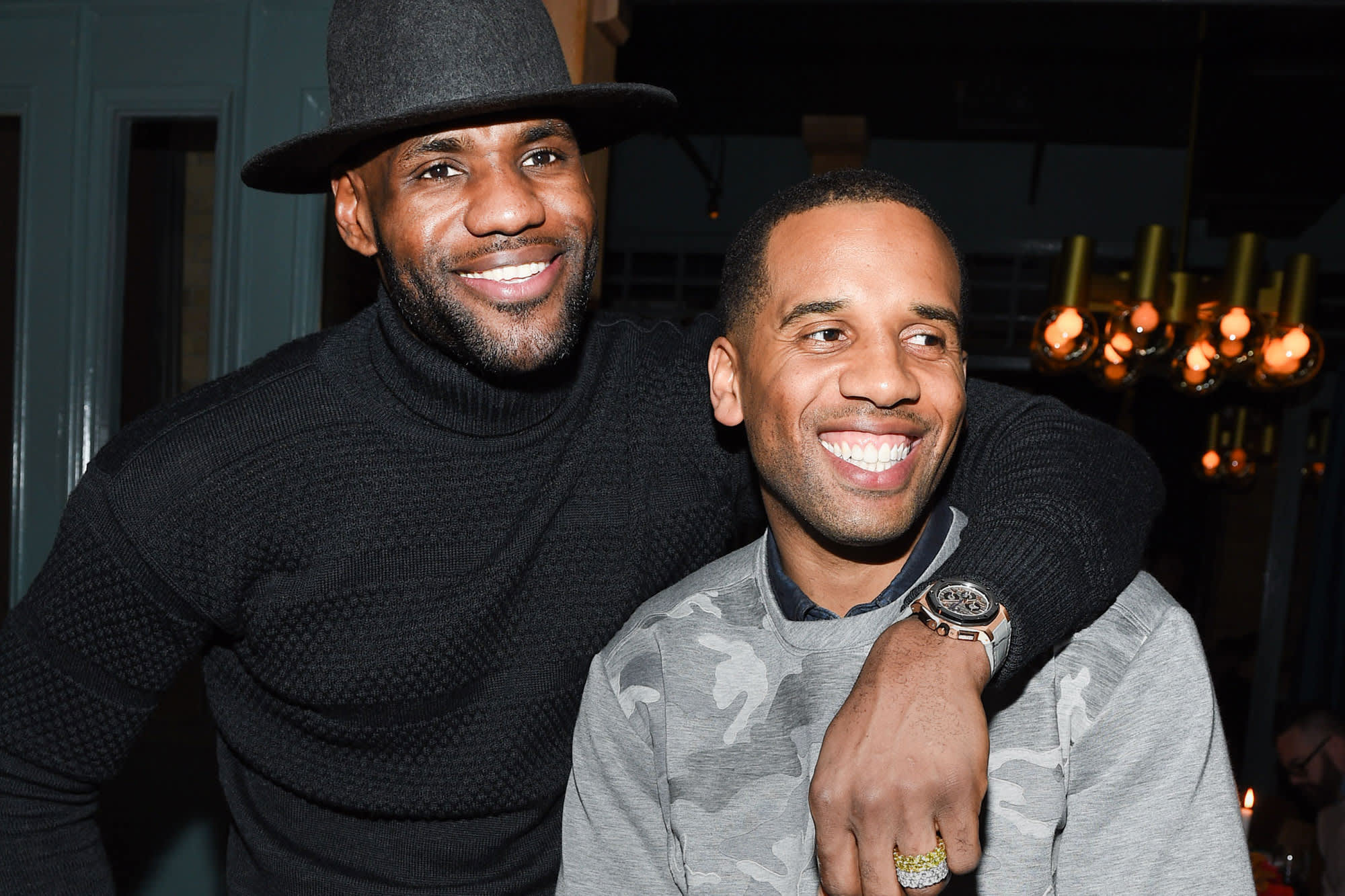 e533959e6a8 LeBron James  business manager Maverick Carter shares his best advice