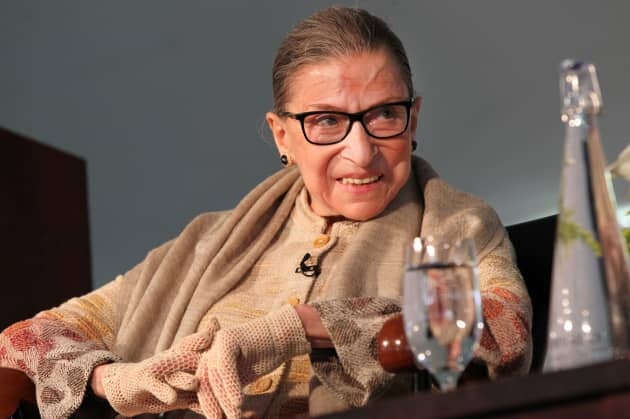 Image result for Ruth Bader Ginsburg speaks out with eye towards future of Roe v. Wade