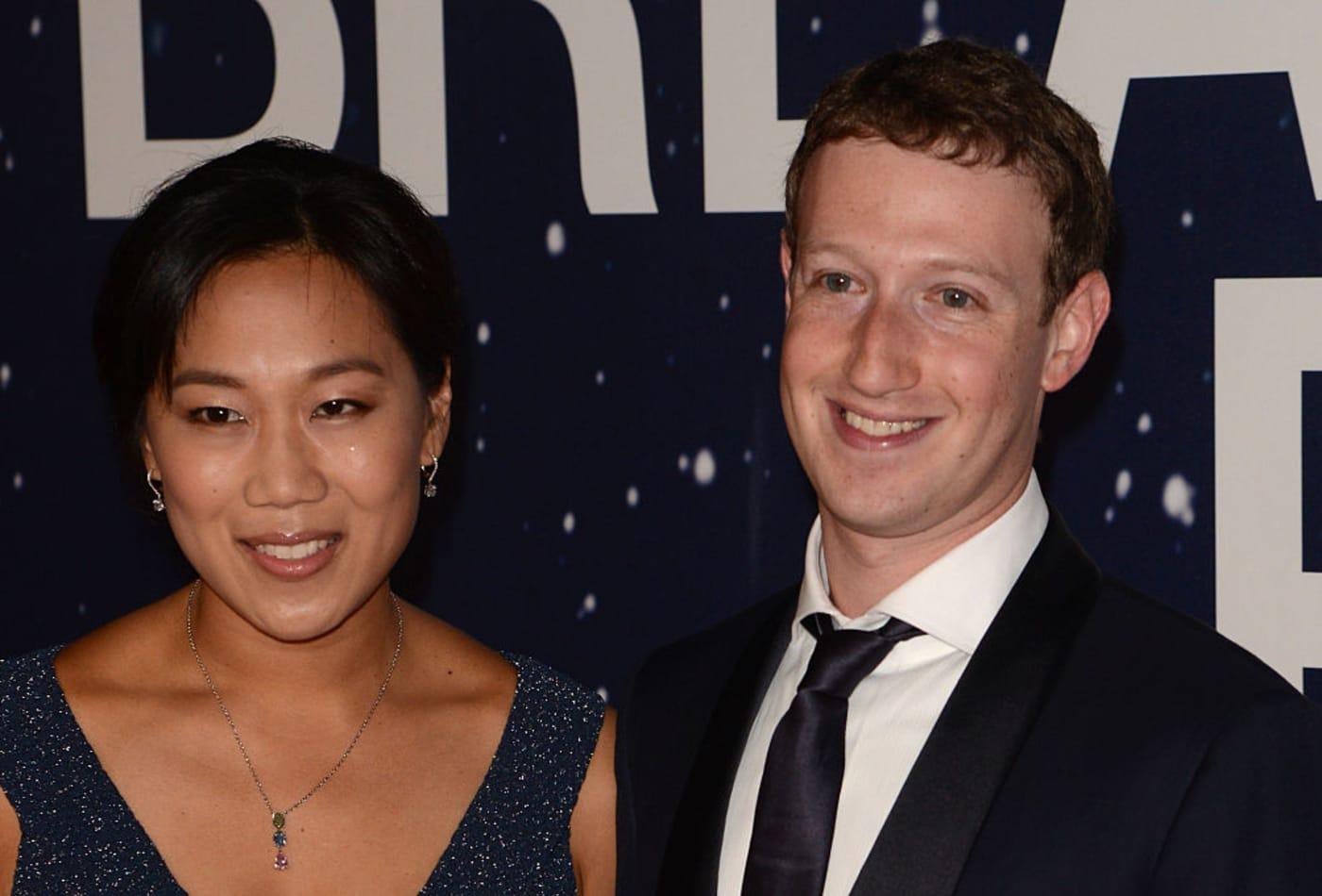 Mark Zuckerberg et sa femme vont donner 99% de leurs actions Facebook