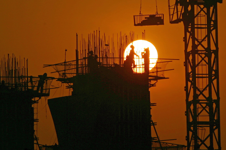 Subs: China Economy emerging market growth GDP buidling Chongqing China